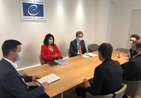 ​MOLDOVA'S CEC AND VENICE COMMISSION REPRESENTATIVES DISCUSS AMENDMENTS TO ELECTION CODE