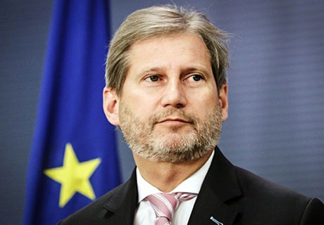 COMMISSIONER HAHN ASSURES ACUM LEADERS THAT EU WILL DO ITS UTMOST TO MAKE ELECTIONS FREE AND FAIR