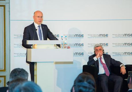 IN MUNICH, PREMIER FILIP COMPLAINED ABOUT DIFFICULTIES IN MOLDO-RUSSIAN RELATIONS