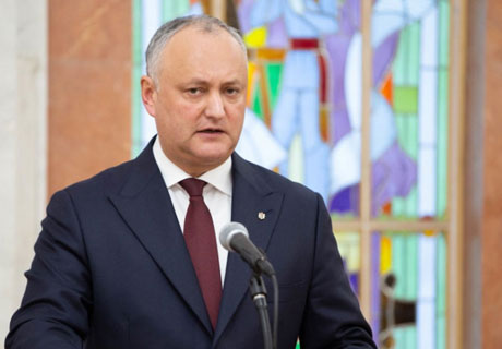 GOVERNMENT WILL NOT RESIGN AT THE REQUEST OF THE OPPOSITION- PRESIDENT IGOR DODON