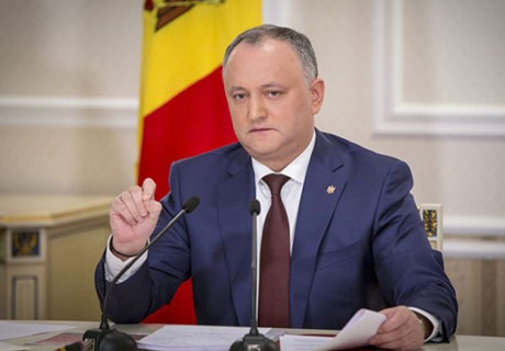 PRESIDENT DODON CONDEMNS GOVERNMENT