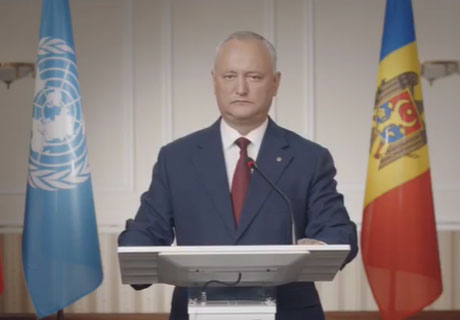 IGOR DODON STATES MOLDOVA'S COMMITMENT TO PRINCIPLE OF NEUTRALITY AND NON-ALIGNMENT TO SANCTIONS AGAINST PARTNER STATES