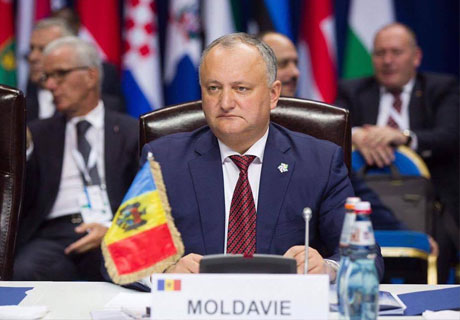 PRESIDENT DODON SAYS MOLDOVA CAN BECOME PLATFORM FOR WEST-EAST NEGOTIATION