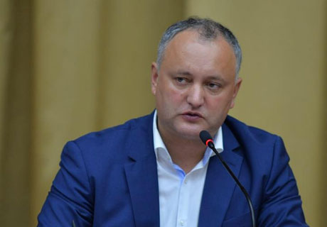 PRESIDENT DODON CALLS HIS SUPPORTERS TO BE READY FOR ACTIONS OF PROTEST
