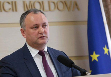 PRESIDENT DODON TRUSTED BY OVER ONE-THIRD OF MOLDOVA POPULATION - OPINION POLL