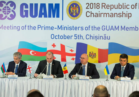 GUAM COUNTRIES TO PROMOTE IN UN THEIR DRAFT RESOLUTION ON PROTRACTED CONFLICTS