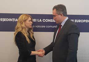 MOLDOVAN AND ROMANIAN CUSTOMS SIGN AGREEMENT ON THREE CHECKPOINTS MODERNIZATION