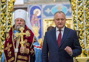 PRESIDENT DODON PROPOSES TO HOLD ALL-ORTHODOX COUNCIL IN CHISINAU