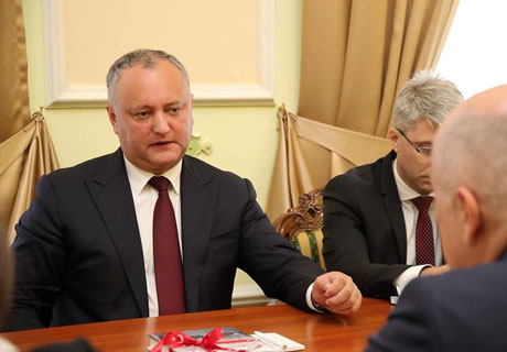 STATUS OF OBSERVER IN EAES WILL LEAD TO GROWTH OF MOLDOVAN EXPORTS - PRESIDENT
