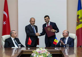 MOLDOVA AND TURKEY SIGN 5 AGREEMENTS ON COOPERATION