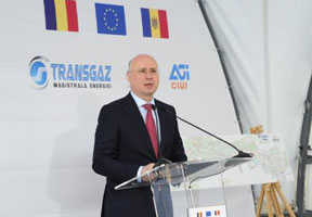 BUILDING OF OPERATIONAL COMPLEX VESTMOLDTRANSGAZ STARTED AT CHISINAU OUTSKIRTS