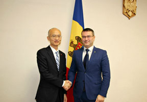 MOLDOVAN MINISTER AND CHINESE AMBASSADOR DISCUSS AGREEMENT ON FREE TRADE ZONE