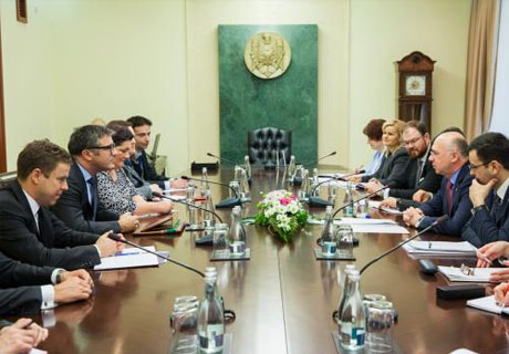 PREMIER FILIP INFORMS IMF MISSION ABOUT MOLDOVAN GOVERNMENT