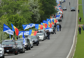 PARTIDUL NOSTRU TO HOLD CAR RALLY ON OCCASION OF 75TH ANNIVERSARY OF MOLDOVA LIBERATION