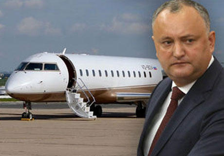 PRESIDENT DODON CANNOT RETURN FROM MOSCOW DUE TO NON-FLYING WEATHER HERE