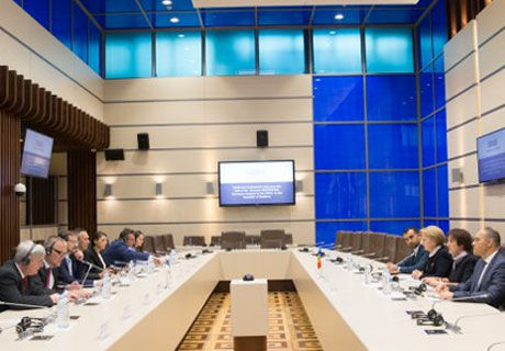 MOLDOVAN PARLIAMENT SPEAKER WELCOMES OSCE SECRETARY GENERAL
