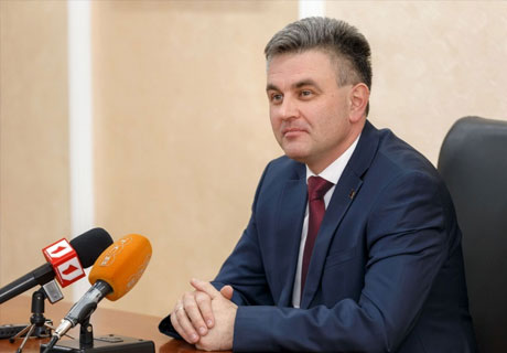 TIRASPOL LEADER SAYS HE CAN SEE NO ALTERNATIVE TO NEGOTIATIONS WITH MOLDOVA