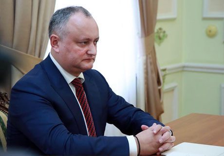 SOME PUBLIC FIGURES IN TRANSNISTRIA ARE DISINTERESTED IN NEGOTIATIONS WITH MOLDOVA – PRESIDENT DODON