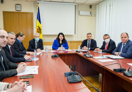 DEPUTY PREMIER CRISTINA LESNIC BRIEFS FOREIGN DIPLOMATS ON SITUATION OF TRANSNISTRIAN CONFLICT SETTLEMENT