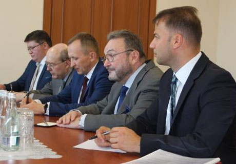 DEPUTY PREMIER AND RUSSIAN FOREIGN MINISTRY REPRESENTATIVE DISCUSS TRANSNISTRIAN PROBLEMATIC