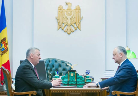 PRESIDENT DODON DISCUSSES PASSENGER COMMUNICATION ISSUES WITH TRANSNISTRIA