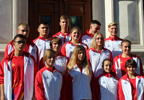 YOUNG MOLDOVAN ATHLETES GO TO ARGENTINA