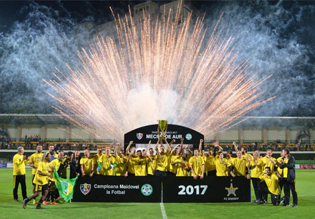 FC SHERIFF WINS MOLDOVAN CHAMPIONSHIP FOR 15TH TIME