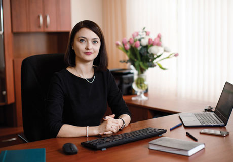 ALIONA LEVCA – THE NEW CHAIRMAN OF THE BOARD OF FINCOMBANK