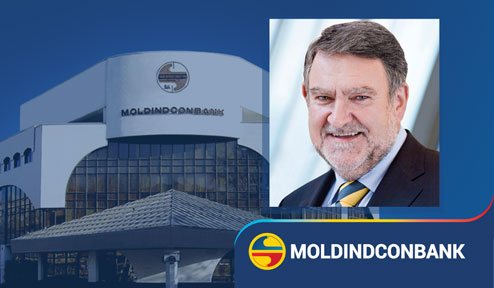 Top European Banker Herbert Stepic elected Chairman of the Board of Directors of Moldindconbank