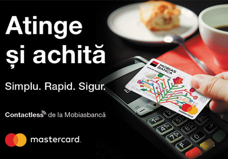 SPEED UP YOUR PAYMENTS WITH MASTERCARD® CONTACTLESS CARDS FROM MOBIASBANCA