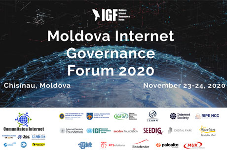 """NEW DEVELOPMENTS WILL MAKE THE INTERNET MORE CONVENIENT AND EFFICIENT."" FIRST NATIONAL INTERNET GOVERNANCE FORUM STARTED IN MOLDOVA"