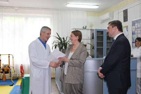 ​MOBIASBANCA DONATES EFFECTIVE MEDICINES FOR TREATMENT OF THE CHILDREN WITH SEVERE BURNS
