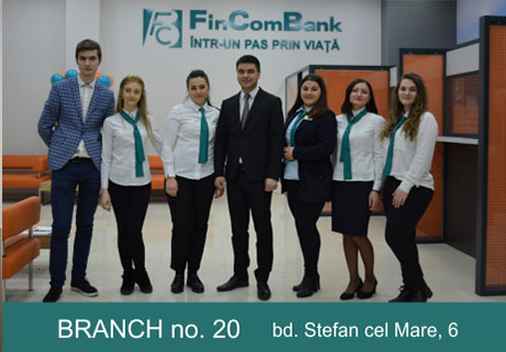 FINCOMBANK S.A. HAS OPENED A NEW BRANCH IN THE CAPITAL