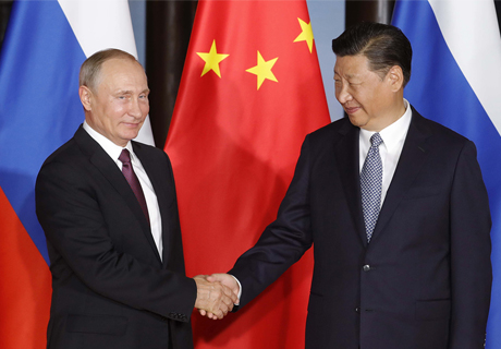 RUSSIAN, CHINESE PRESIDENTS DISCUSS BILATERAL AGENDA IN PHONE CALL