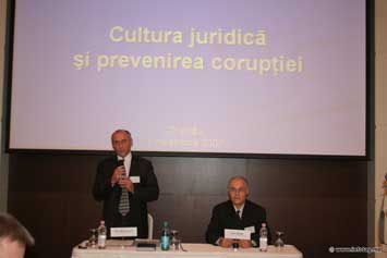 01.11.2007 COMBATING CORRUPTION MUST BEGIN FROM THE ABOVE – CONSTANTIN LAZAR
