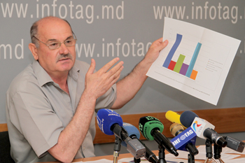 MOLDOVAN SCIENTIST ACCUSES ACADEMY PRESIDENT OF STEALING PUBLIC MONEY