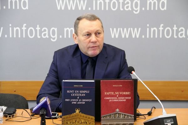MIHAI CORJ BELIEVES THAT AUTHORITIES DELIBERATELY HINDER PROMOTION OF PEOPLE