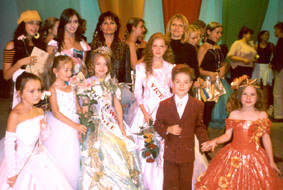 16.09.2004 MOLDOVA'S CHILD MODELING HITS INTERNATIONAL STARDOM